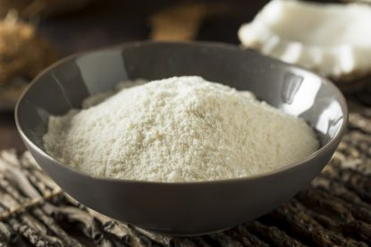 Raw Organic Dry White Coconut Flour for Baking